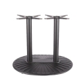 Two legs outdoor dining table base