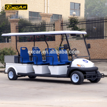 China 6-Sitzer elektrische Streifenwagen Elektroauto Mini Bus Cruiser mit Ladung
