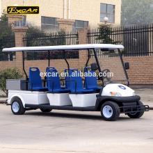 Chine 6 places voiture électrique de patrouille voiture électrique mini-bus Cruiser avec cargo