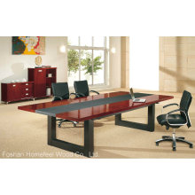 Simple Wooden Boardroom Table Meeting Table Conference Table (HF-MH7037)