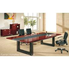 Tabela de mesa de madeira simples Mesa de reunião Mesa de conferência (HF-MH7037)