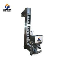 Transportador de cangilones elevadores de correa de acero y ep