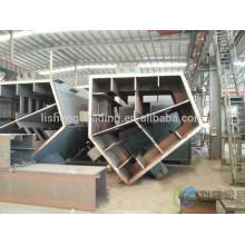 Service de fabrication en acier structuré en acier