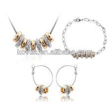 Wholesale unique design jewelry African popular jewelry set