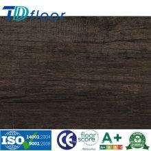 Tipo de piso de plástico e PVC Material de revestimento de vinil com UV