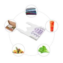Sacos plásticos de compras podem ser personalizados