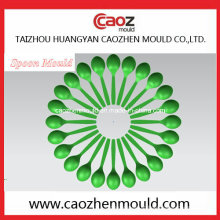 Plastic Injection Cutelaria descartável / Spoon Mold