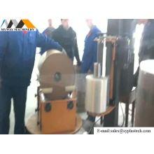 Máquina de envolvimento de rolo redondo de venda quente
