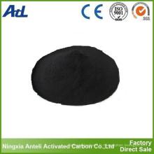 décoloration et séchage de la poudre de charbon actif