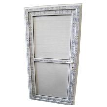 Cheaper price standard size pvc/upvc plastic toilet doors in kuala lumpur