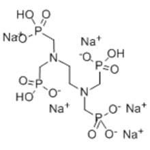 Etilendiamina tetra (ácido metilenfosfónico) sal pentasódica CAS 7651-99-2