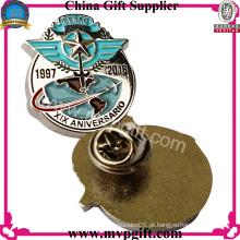 Emblema do Pin do metal com projeto personalizado