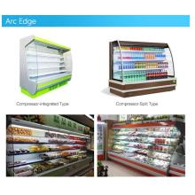 Ice Popsicle Display Refrigeration Showcase