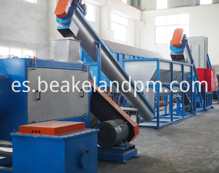 High Quality Pvc Crushing Washing Drying Line