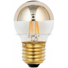 Bombilla de filamento de oro de 45mm 3.5W LED Mirror