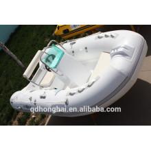 RIB390 bateau Chine côtes bateau canot pneumatique avec plancher rigide