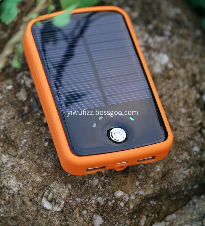 Customizable Solar Charger