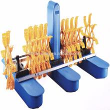 Aérateur de roue à aubes de qualité d'exportation Inde, aérateurs de qualité supérieure, aérateur de roue flottante pour l'aquaculture