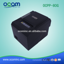 OCPP-80G-L Cheap 80mm Thermal Receipt Printer Auto Cutter