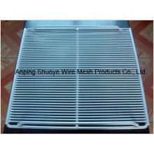 Prateleira de fio de metal para geladeira ou freezer para armazenamento de alimentos
