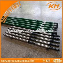 D grade 1 1/4 '' API Sucker rod usado para campo petrolífero