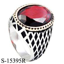 Hotsale Design Bijoux Fantaisie Bague Argent 925 avec Zirconia