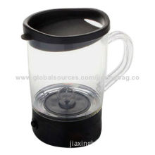 Kitchen Blenders, 250mL Acrylic, Automatic Mixing Cup, OEM Orders are Welcome