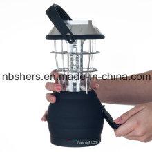36PCS LED Rechargeable Solar Lantern Dynamo Cranking
