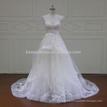 XF16042 dernières robes design en satin de dentelle
