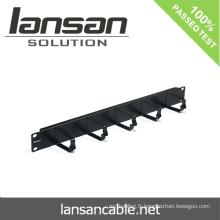 19 '' Gestion des câbles avec 24 ports / 48 ports Accessoires de câblage réseau