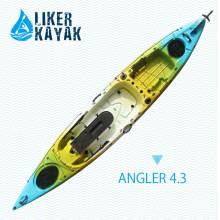Pesca sentada en la parte superior del río Kayak plástico LLDPE / HDPE