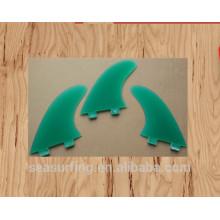 Nueva temporada de alta calidad aletas de color transparente FCS insertar lámina en venta aletas de natación