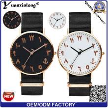 Yxl-176 New Model Fashion Wrist Watch Nylon Strap Mens Women Vogue Casual Watch Custom OEM Design Promotional Watches