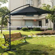 Parapluie de jardin en plein air patio en métal cantilever