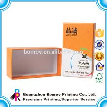 Deckel und Based Box für die Verpackung Hardcover Schreibwaren Box Großhandel