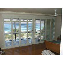 89mm Basswood Massivholz Plantagen Fensterläden Fenster (Sgd-S-7206)