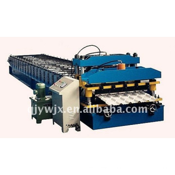 QJ automático cnc telhadura de chapa de máquinas de dobramento