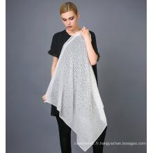 Écharpe en soie imprimée en soie