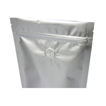 Plastic Stand up Pouch with Degassing Valve