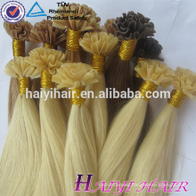 Golden Supplier Top Quality Keratin Glue 100 Remy Human Hair U Tip