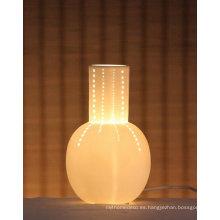 Luz de la lámpara de porcelana