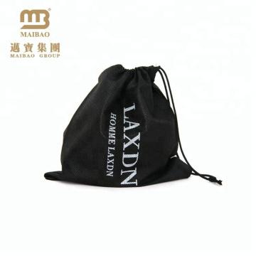Personalized brand logo printed waterproof nylon nonwoven drawstring gym bag