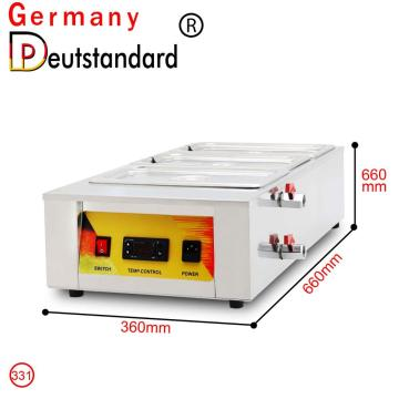 Hot sale chocolate melting tempering machine
