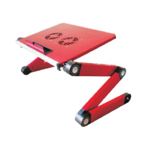 "Laptop Desk Alu Panel Foldable Height Adjustable Upto 17"" (T3A)"