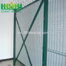 PVC bersalut 358 Welded Wire Mesh Panel