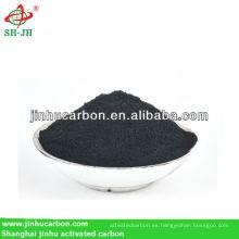 Agente de decoloración del carbono activado