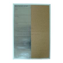 Aluminum Framed Combo Magnetic Board (BSSCCO-E)