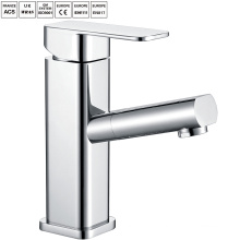 Single handle hot brass water faucet