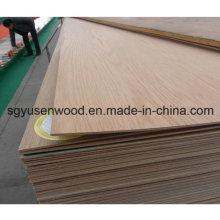 Madeira compensada comercial da madeira compensada 2.5mm da categoria da mobília da categoria E1