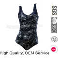 Custom Printing Ladies Swimwear One Piece Swimsuit